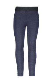 B.Nosy Legging With Lurex - Oxford Blue