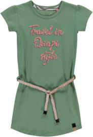 Quapi dress Saar 'Dusty Olive'