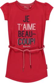 Quapi dress Saar 'Rouge Red'