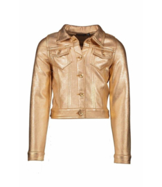 Nono Girls Vest Suede - Cinnamon