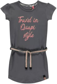 Quapi dress Saar 'Grey'
