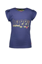 Kidz-Art T-Shirt Fancy V-Neck 'Happy'