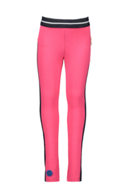 B.Nosy legging with side piece - Fuchsia