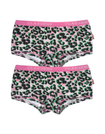 Claesen's girls 2-pack boxer 'pink panther'