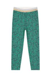 Quapi Legging Annebel - Jungle Green Leopard