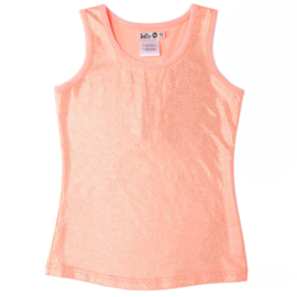 LoFff Tanktop Dotted Coral-Gold