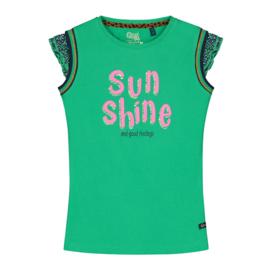 Quapi shirt Amber - Jungle Green