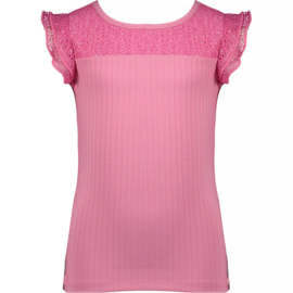 NoNo Girls t-shirt rib - Kathy - Loving Pink