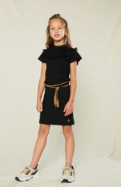NoNo Meisjes jurk Moya - Anthracite