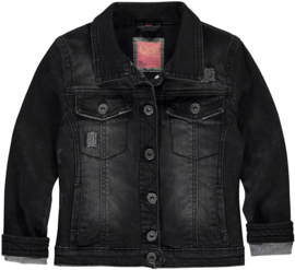 Quapi girls Denim Jacket 'Dark Grey'