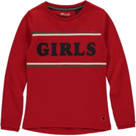 Quapi Longsleeve Tanaya - Lollipop Red