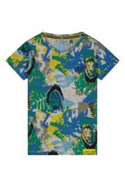 Quapi boys shirt Abdel - Emerald Jungle