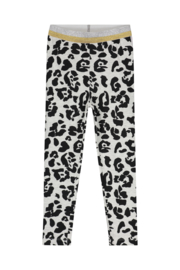 Quapi Legging Annebel - Dark Grey Leopard
