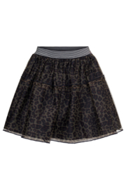 TopItm Mesh Skirt Carina - aop Animal