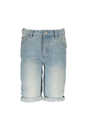 Moodstreet Boys Stretch Denim Short - xl-Blue