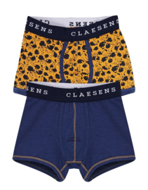 Claesen's Boys 2-Pack Boxershort 'Curry'