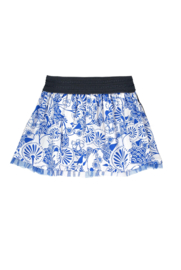 B.Nosy Skirt with Mesh Detail - Delfts Blue