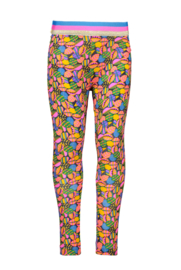 Kidz-Art bonded legging - all over Leafs