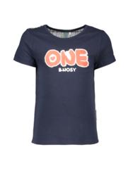 B.Nosy Shirt With Multi Color Lurex Backside - Multi Stripe Glitter