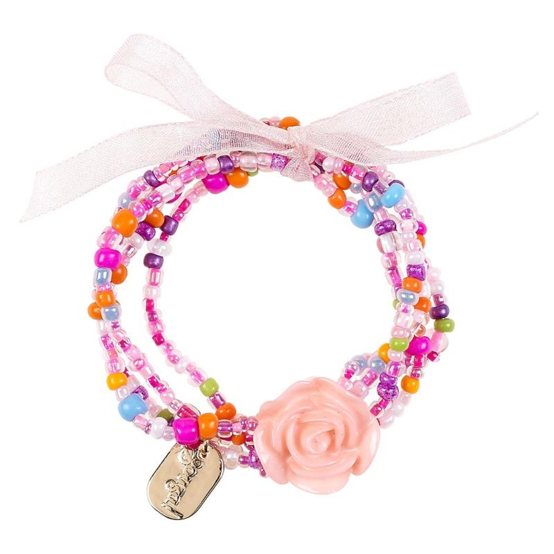 Souza! Armband Carli - roze multi