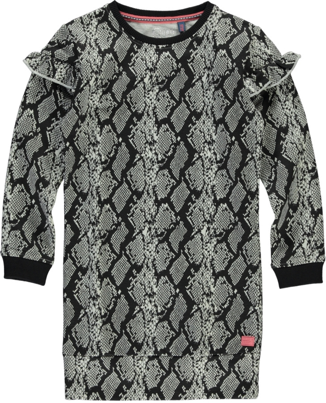 Quapi dress Tade - Grey Snake