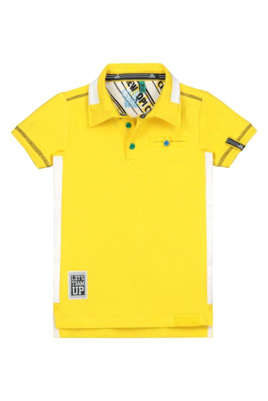 Quapi boys Polo Albert - Empire Yellow