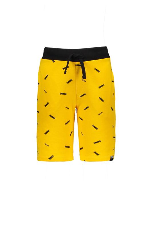Moodstreet Boys Short aop Logo - Dark Yellow