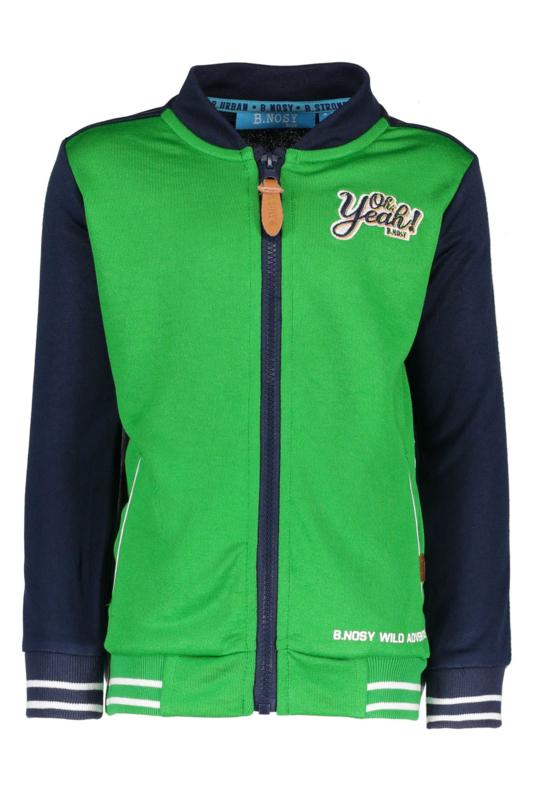 B.Nosy Boys Baseball Cardigan with tape on sleeve Y902-6322