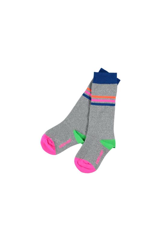 Kidz-Art Knee high socks lurex