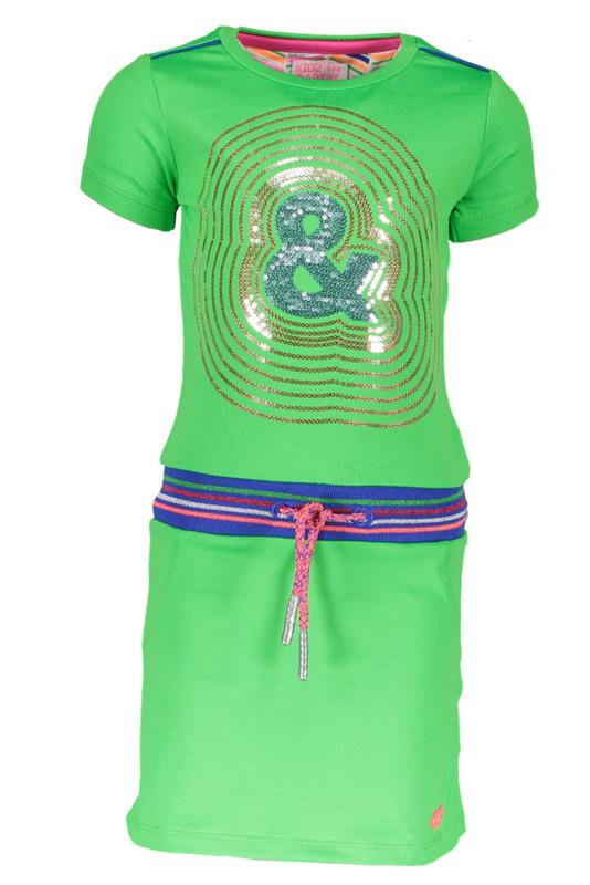 Kidz-Art dress with rib waist