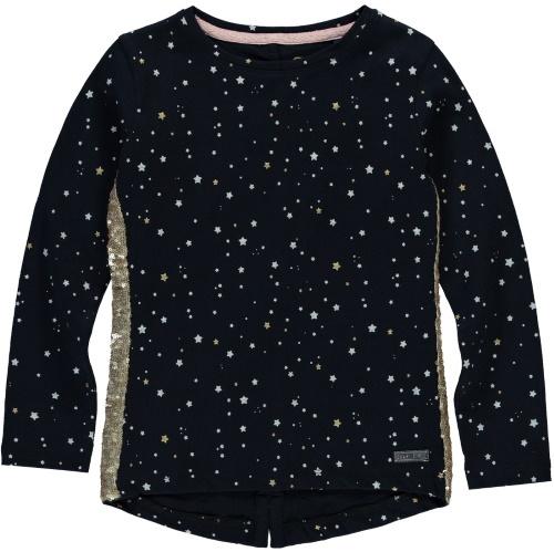 Quapi Longsleeve Tari - Dark Navy Stars
