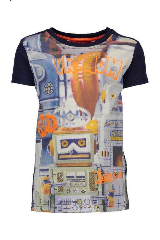 TYGO&Vito Shirt 'Digital Robot' X803-6422