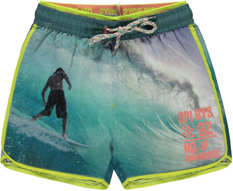 Quapi boys Swim Short SEV 'Photo Print'