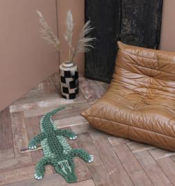 Krokodil vloerkleed