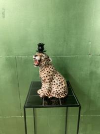 Luipaard kandelaar