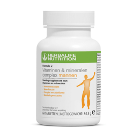 Formula 2 Vitaminen & Mineralen Complex Mannen 60 tabletten