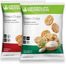 Proteïne chips - 10 zakjes