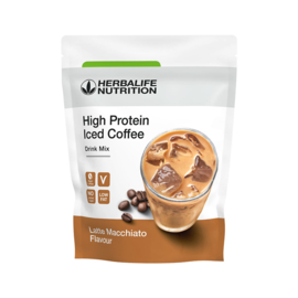 NIEUW ! High Protein Iced Coffee