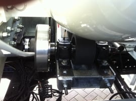 LINNIG Pneumatic clutch camshaft PTO