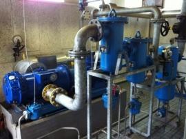 Biogas inblaascompressor