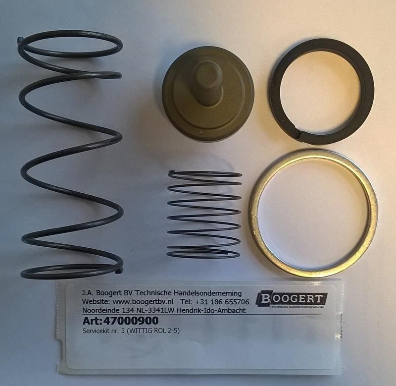 ROL 2-8 Service kit nr. 3 suctionvalve regulator