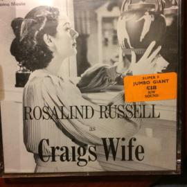 Nr.6598 - Super 8  sound -- Rosalind Russell as Graigs Wife, 120 meter zwartwit met geluid speelduur 20 min. in orginele doos