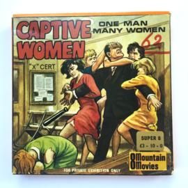 Nr.7066 --Super 8 Silent - Captive Women, goede kwaliteit zwartwit Silent ca 60 meter  in orginele doos