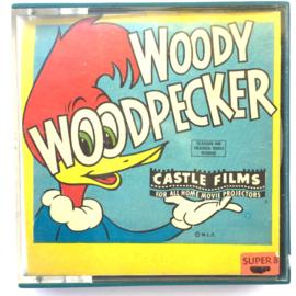 Nr.6945 --Super 8 Sound-- Musical Miniatures Chopin Andy Panda, Woody Wood Pecker, Cartoon, 60 meter mooi van kleur met Engels geluid, in de orginele doos