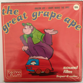 Nr.6657 --Super 8 SOUND,The Great Grape Ape, 120 meter kleur met Engels geluid in orginele  doos