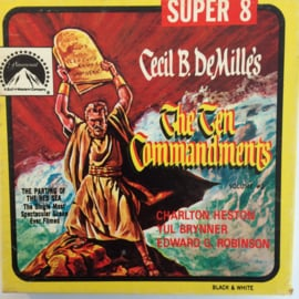 Nr.6784 --Super 8-- The Ten Commandments, zwartwit 60 meter Silent in orginele fabrieks doos