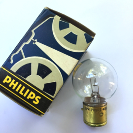 Nr. R302 Philips projectielamp 24V 30W type B21D
