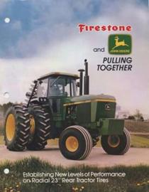 """Nr.16220 --16mm """"Fire Stone Agriculture's World serie's-- Documentaire over landbouw tractoren etc. speelduur 20 minuten Engels gesproken mooi van kleur, compleet op spoel en in doos"""