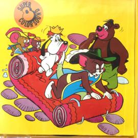 Nr.7276 --Super 8 sound--Tom en Jerry Grieks Avontuur op 50 meter reel kleur Engels gesproken op spoel en in orginele doos
