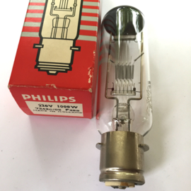 Nr. R248 Philips projectielamp 220V 1000W  7242c/05 P28S